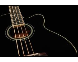 IBANEZ AEB8E BLACK Бас-гитара акустическая