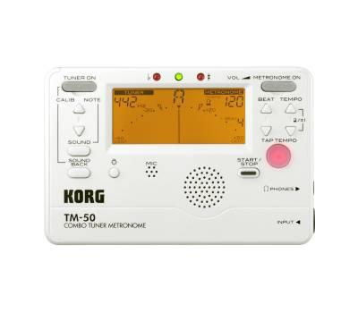 Купити KORG TM 50C PW Тюнер-метроном онлайн