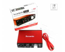 FOCUSRITE SCARLETT SOLO NEW Аудиоинтерфейс