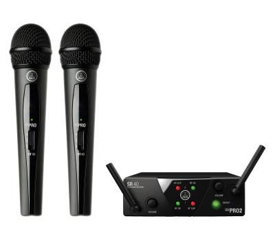 Купить AKG WMS40 Mini2 Vocal Set BD US45A/C EU/US/UK Микрофонная радиосистема онлайн