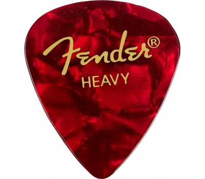 Купить FENDER 351 SHAPE PREMIUM PICKS RED MOTO HEAVY Медиатор онлайн
