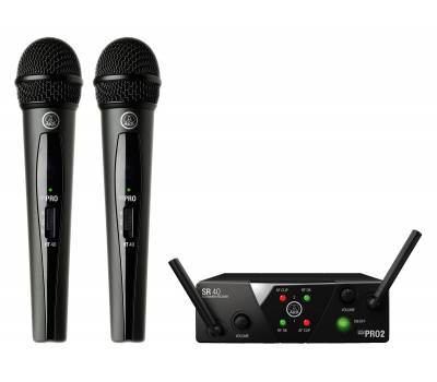 Купить AKG WMS40 Mini2 Vocal Set BD US25A/C Микрофонная радиосистема онлайн