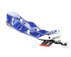 "FENDER 2"" MONOGRAMMED STRAP LAKE PLACID BLUE Ремень гитарный"