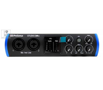 Купить PRESONUS Studio 24c Аудиоинтерфейс онлайн