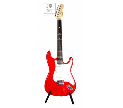 Купить SQUIER by FENDER MM STRAT HT RED Электрогитара онлайн