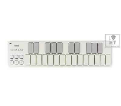 Купить KORG NANOKEY 2 WH MIDI контроллер онлайн