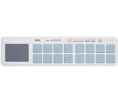 Купить KORG NANOPAD 2 WH MIDI контроллер онлайн