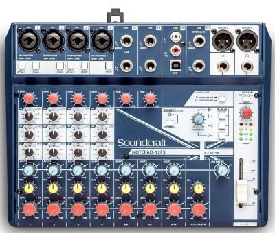 Купить SOUNDCRAFT Notepad-12FX Микшерный пульт онлайн