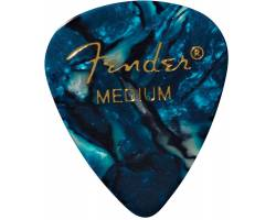 FENDER 351 SHAPE PREMIUM PICKS OCEAN TURQUOISE MEDIUM Медіатор