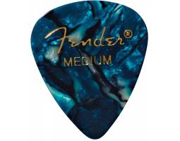 FENDER 351 SHAPE PREMIUM PICKS OCEAN TURQUOISE MEDIUM Медиатор