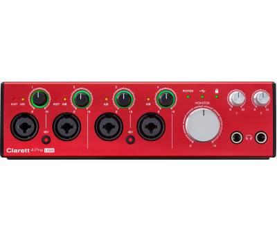 Купить FOCUSRITE Clarett 4Pre USB Аудиоинтерфейс онлайн