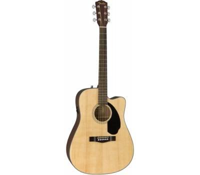 Купить FENDER CD-60SCE WN NATURAL Гитара электроакустическая онлайн