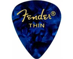 FENDER 351 BLUE MOTO (12 PK) THIN Набор медиаторов