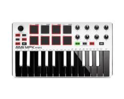 AKAI MPK MINI MK2 WHITE MIDI клавиатура