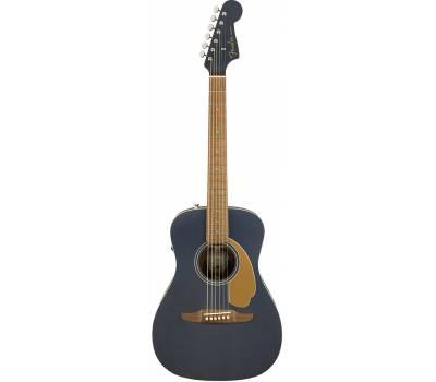 Купить FENDER MALIBU PLAYER MIDNIGHT SATIN Гитара электроакустическая онлайн