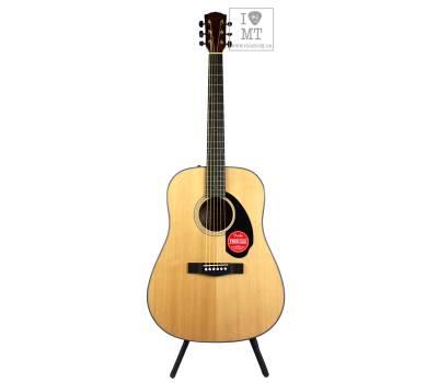 Купить FENDER CD-60S NATURAL WN Гитара акустическая онлайн