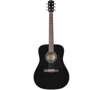Купить FENDER CD-60 V3 WN BLACK Гитара акустическая онлайн