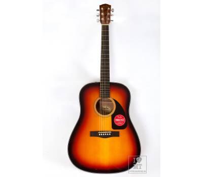 Купить FENDER CD-60 V3 WN SUNBURST Гитара акустическая онлайн