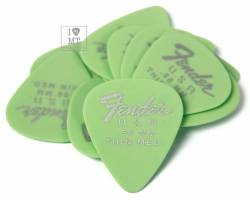 FENDER 351 DURA-TONE .58 12-PACK, SURF GREEN Набір медіаторів