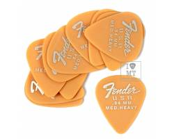 FENDER 351 DURA-TONE .84 12-PACK, BUTTERSCOTCH BLONDE Набір медіаторів