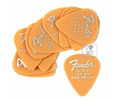 Купить FENDER 351 DURA-TONE .84 12-PACK, BUTTERSCOTCH BLONDE Набор медиаторов онлайн