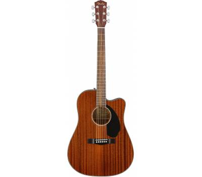 Купить FENDER CD-60SCE DREADNОUGHT MAHOGANY WN Гитара электроакустическая онлайн