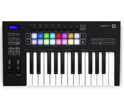 Купить NOVATION LaunchKey 25 MK3 MIDI клавиатура онлайн