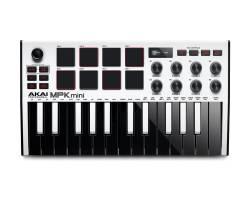 AKAI MPK MINI MK3 White MIDI контролер