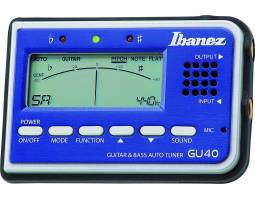 IBANEZ GU40 TUNER BLUE  Тюнер