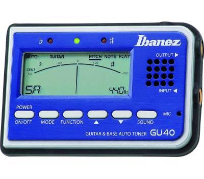 Купить IBANEZ GU40 TUNER BLUE Тюнер онлайн