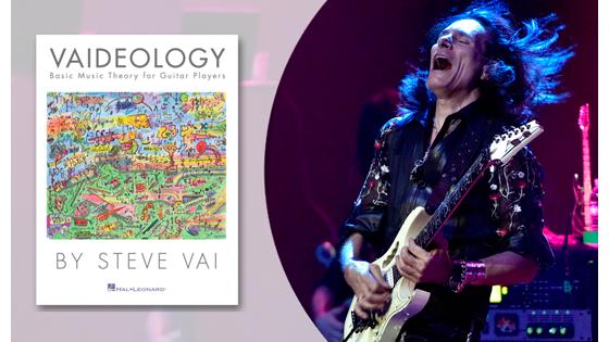 """Книга Стива Вая """"Vaideology: Basic Music Theory for Guitar Players"""""""