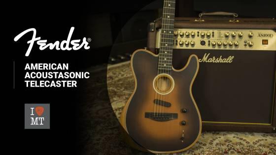 Новый видеообзор: Fender American Acoustasonic Telecaster
