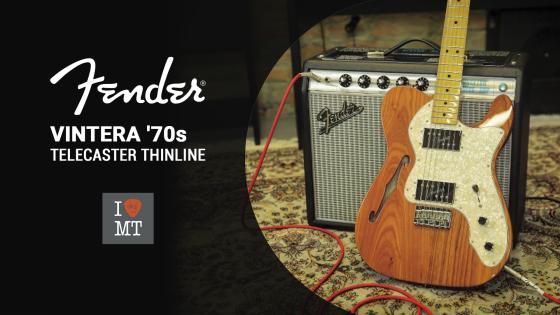 Новый видеообзор: Fender Vintera ThinLine Telecaster | МузТорг Украина