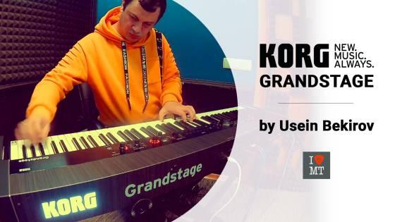 Новый видеообзор: цифровое пианино Korg Grandstage..