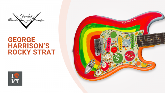 "Новинка: Fender Custom Shop ""Rocky"" Strat.."