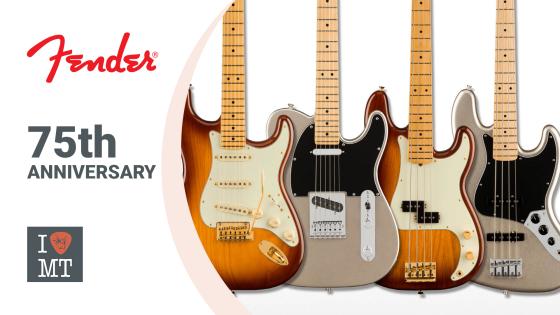 Лимитированная серия гитар от Fender: 75th Anniver..
