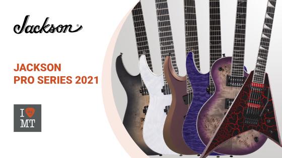 Обновленные гитары Pro Series от Jackson..
