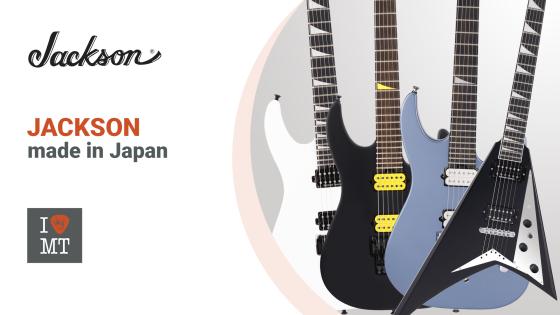 Новые гитары Jackson MJ серии..