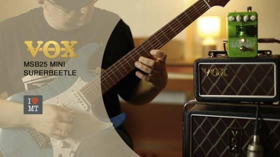 Новое видео от Алексея Гайдука – демонстрация Vox MSB25 Mini Superbeetle