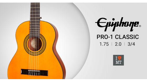 Новый видеообзор: Классические гитары EPIPHONE PRO-1 CLASSIC