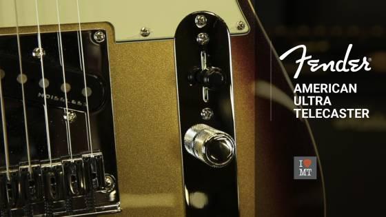 Новый видеообзор: Fender American Ultra Telecaster..