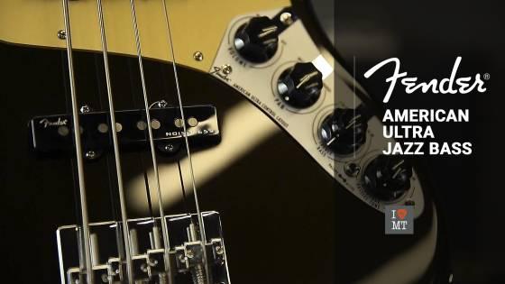 Новый видеообзор: Fender American Ultra Jazz Bass..