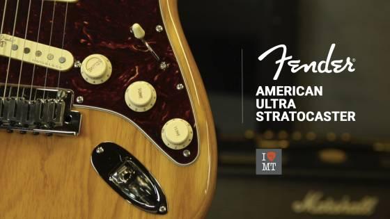 Новый видеообзор: Fender American Ultra Stratocast..