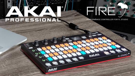Akai Fire - первый контроллер для FL Studio