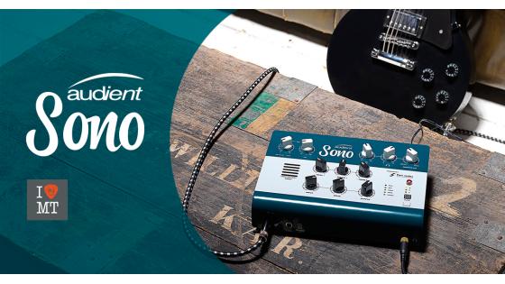 Новый аудиоинтерфейс Audient SONO в наличии...