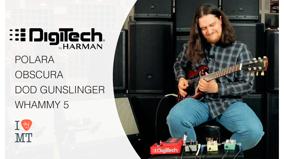 Обзоры гитарных педалей Digitech от Игоря Сидоренка  (Stoned Jesus)