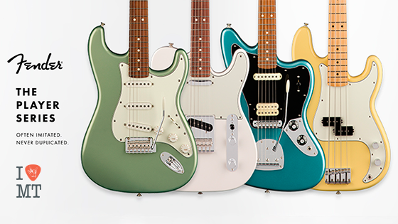 FENDER THE PLAYER SERIES