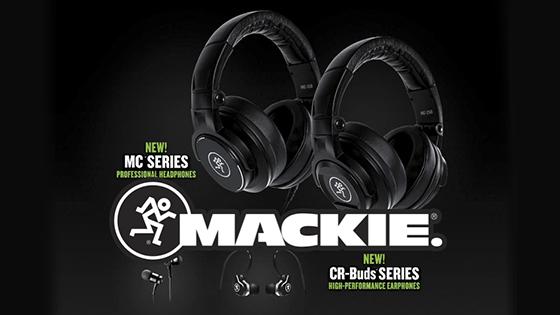 Анонс: Mackie CR-Buds и MC Headphones!