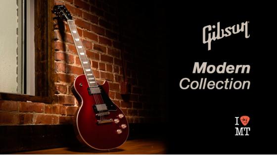 Gibson анонсировали новую серию Modern Collecti...
