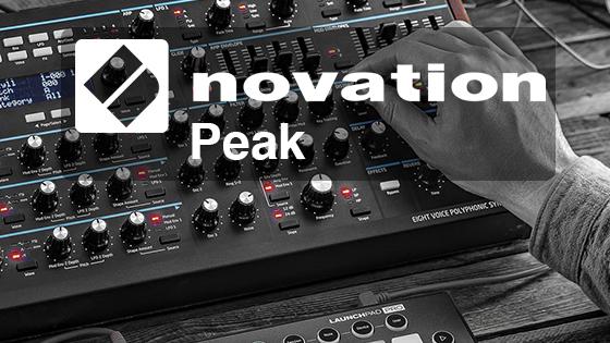 Novation Peak - 8-голосный полифонический синтезатор.